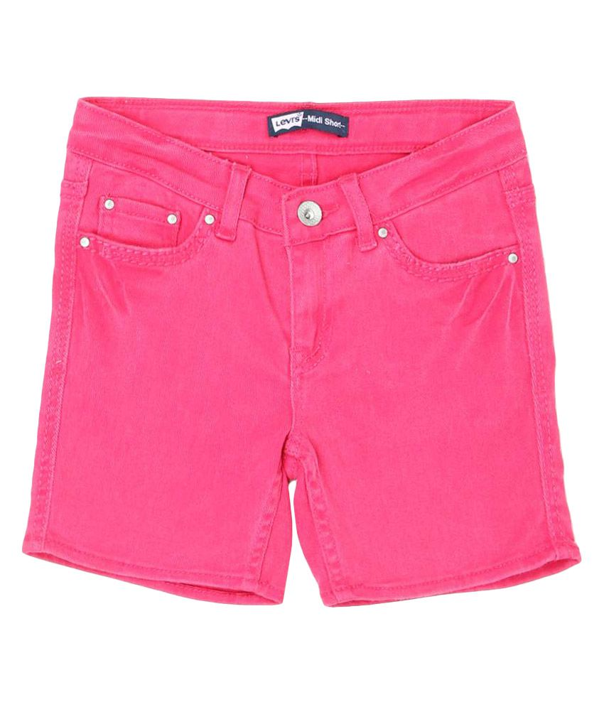 Levi's Kids Pink Shorts