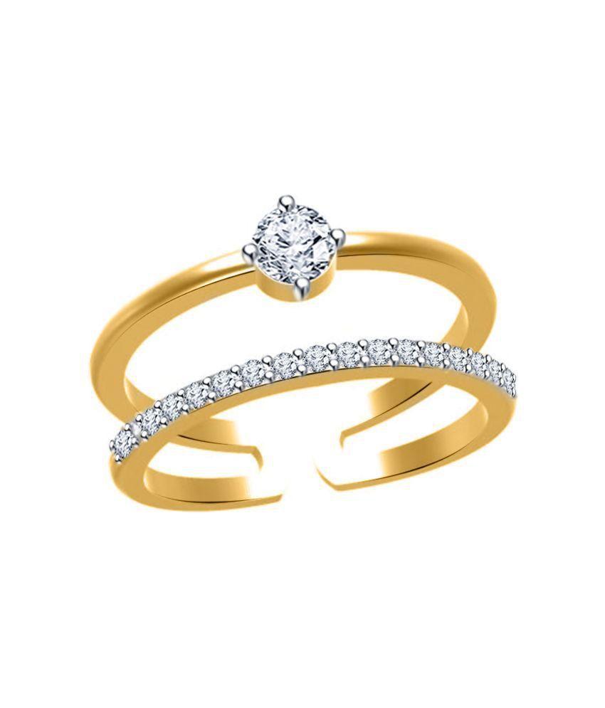 Twisha Golden Alloy Ring