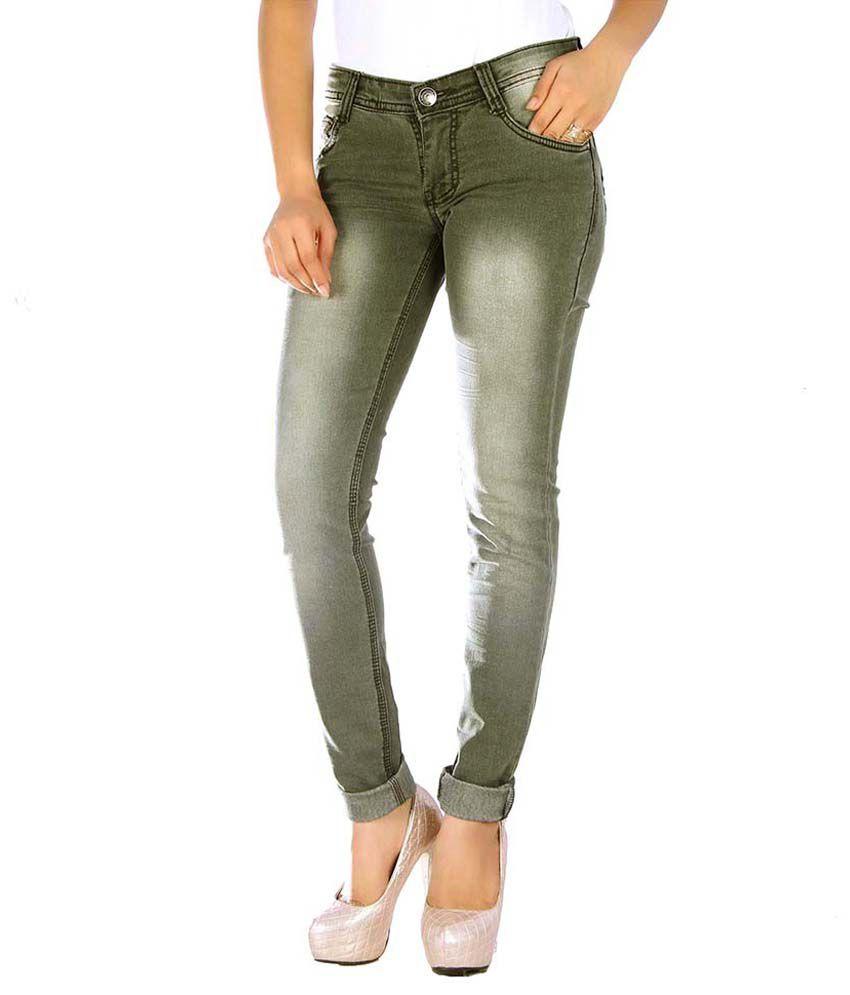 Studio Nexx Gray Denim Lycra Jeans