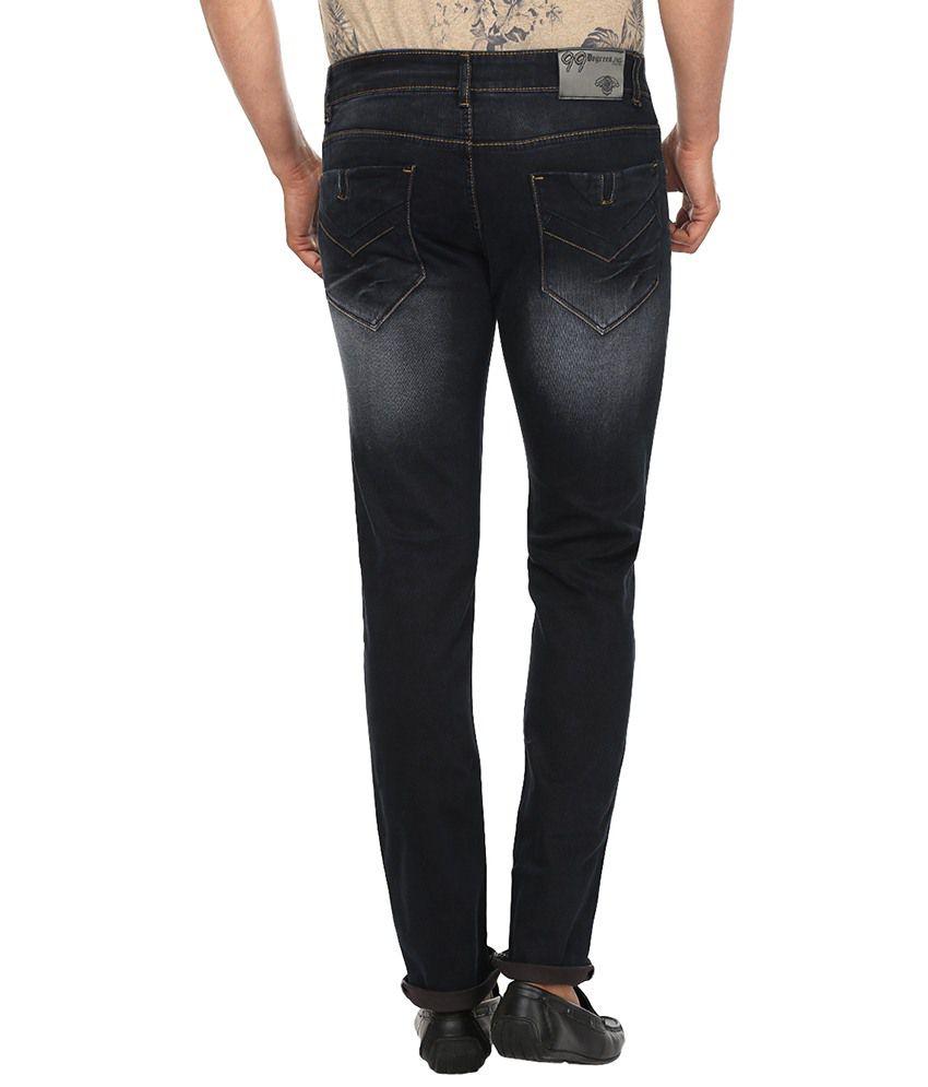 99 Degrees Grey Slim Fit Jeans