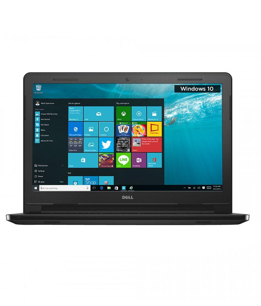 Dell Inspiron 14 3452 Notebook (Y565521HIN9) (Intel Celeron- 2GB RAM- 32GB eMMC- 35.56 cm (14)- Windows 10) (Black)