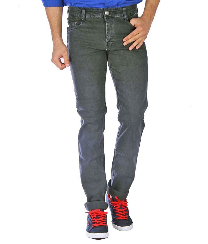 Studio Nexx Grey Regular Fit Jeans