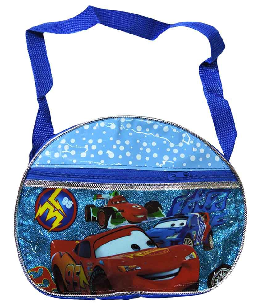 Klassik Blue Cars Polyester Kids Sling Bag - Buy Klassik Blue Cars ...