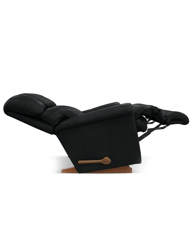 lazboy recliner with black rexine cover pinnacle buy lazboy rh snapdeal com