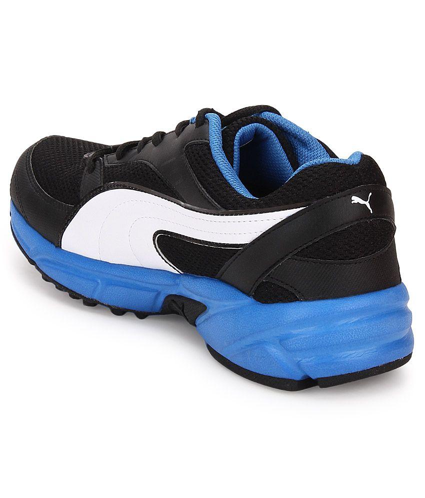 atom fashion black sports shoes style guru fashion