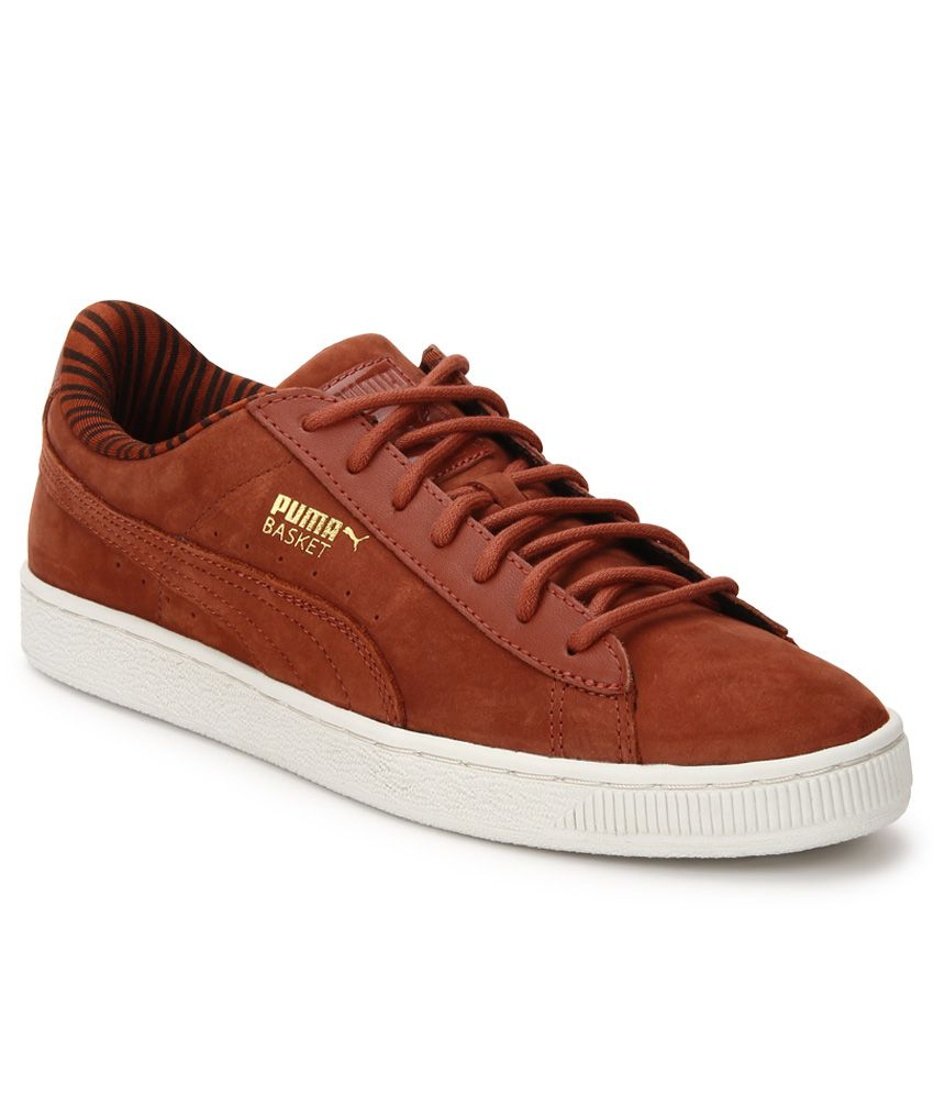 Puma Basket Brown