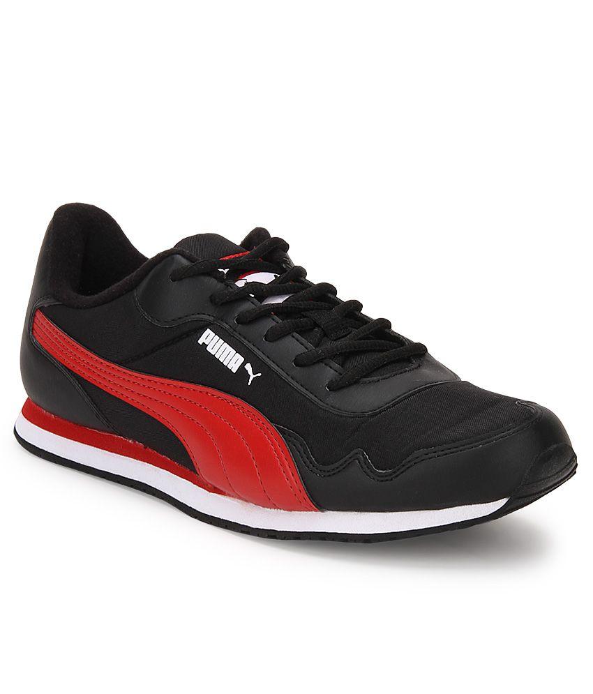 Puma Epoch Black Lifestyle Casual Shoes