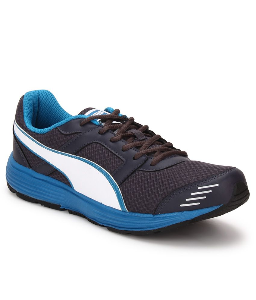Puma Harbour Fashion Gray Running Sports Shoes