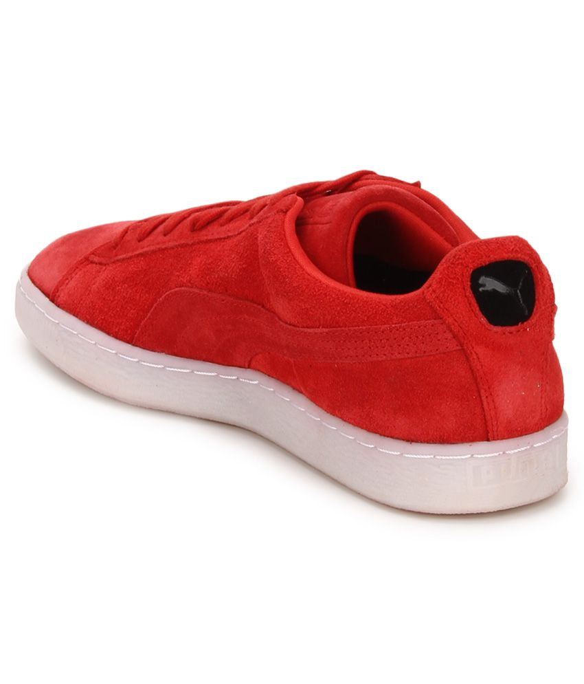 0df17a219a85eb Puma Suede Classic Colored Red Lifestyle Casual Shoes - Buy Puma ...