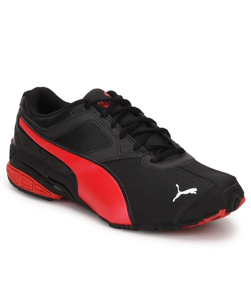 Puma Tazon 6 Black Running Sports Shoes