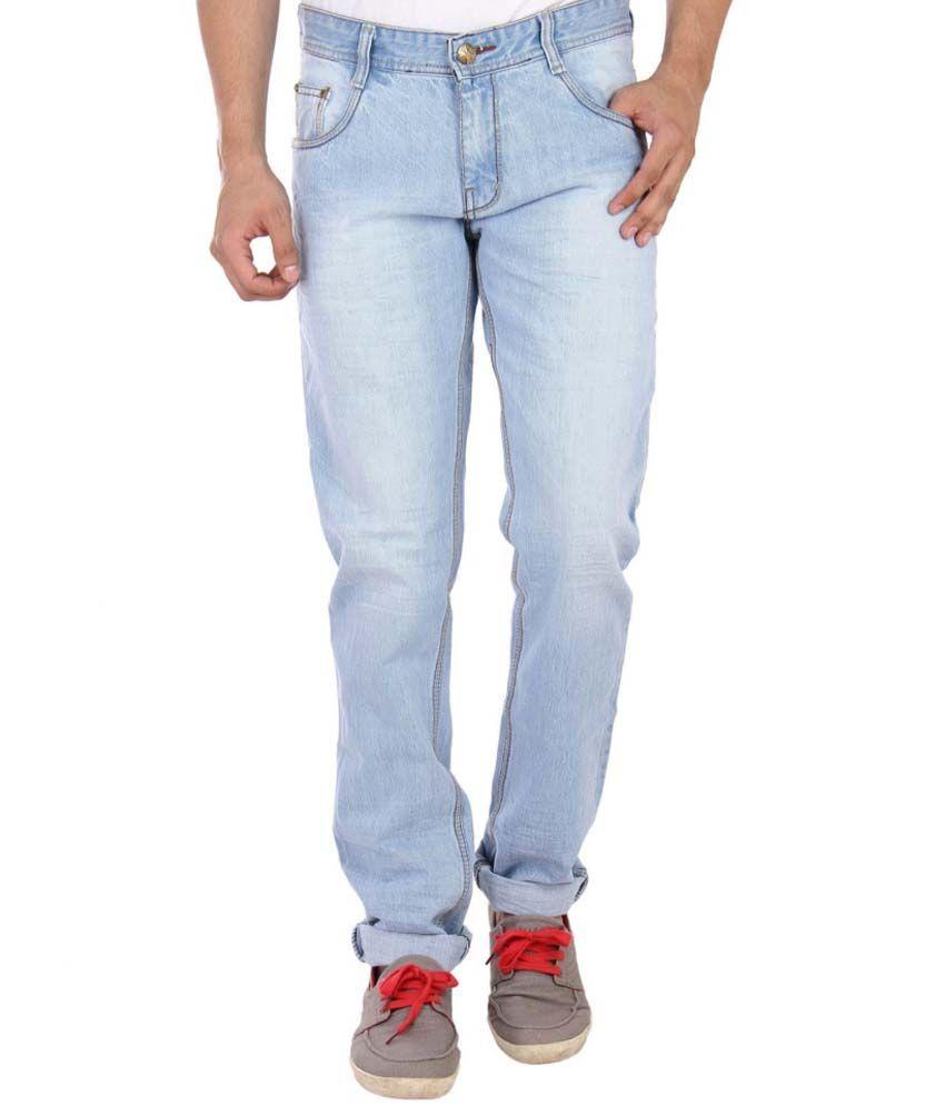 Studio Nexx Blue Slim Fit Jeans
