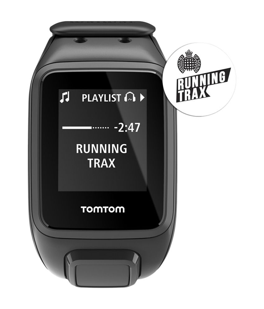 Tomtom Spark Music Gps Fitness Watch - Black (small)