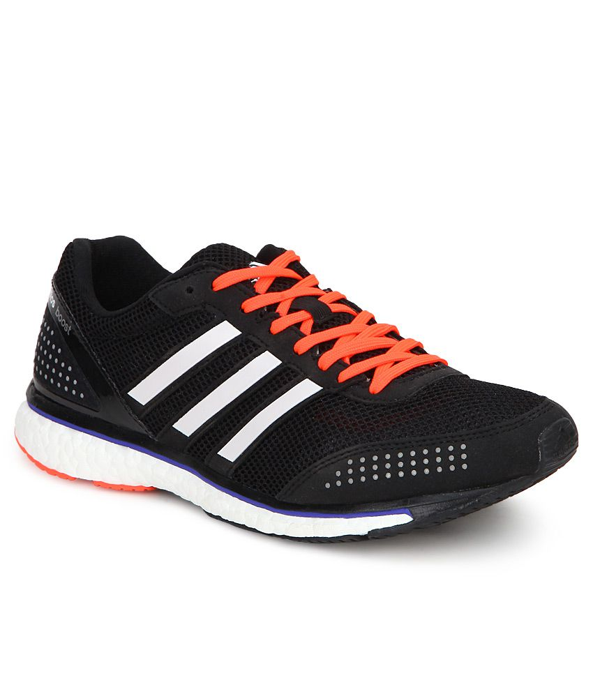 promo code ad2af d7837 Adidas Adizero Adios Black Running Sports Shoes - Buy Adidas Adizero Adios  Black Running Sports Shoes Online at Best Prices in India on Snapdeal