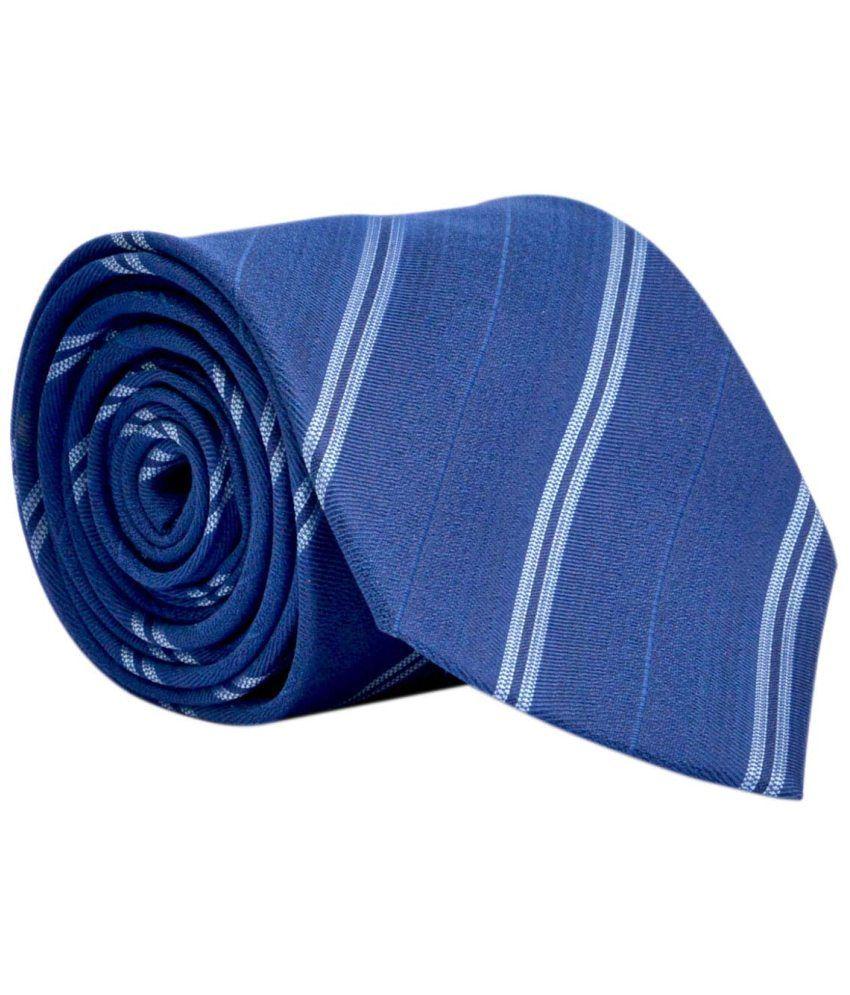 Bizarro.in Blue Micro Fiber Formal Necktie