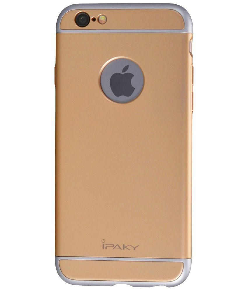 Ipaky Back Cover for iPhone 6/6S - Golden