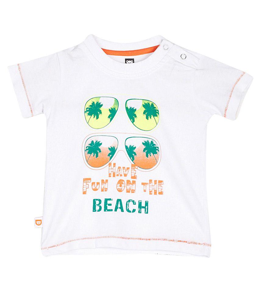 612 League White Printed T-Shirt