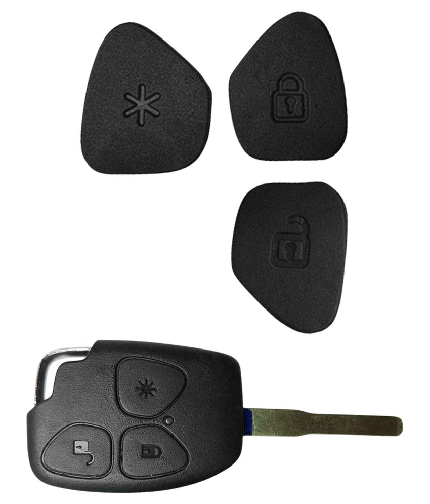 1-Key Remote Key Button Repair Kit for Mahindra Xylo Key FOB (Wholesale pack - set of 50 pieces) Image