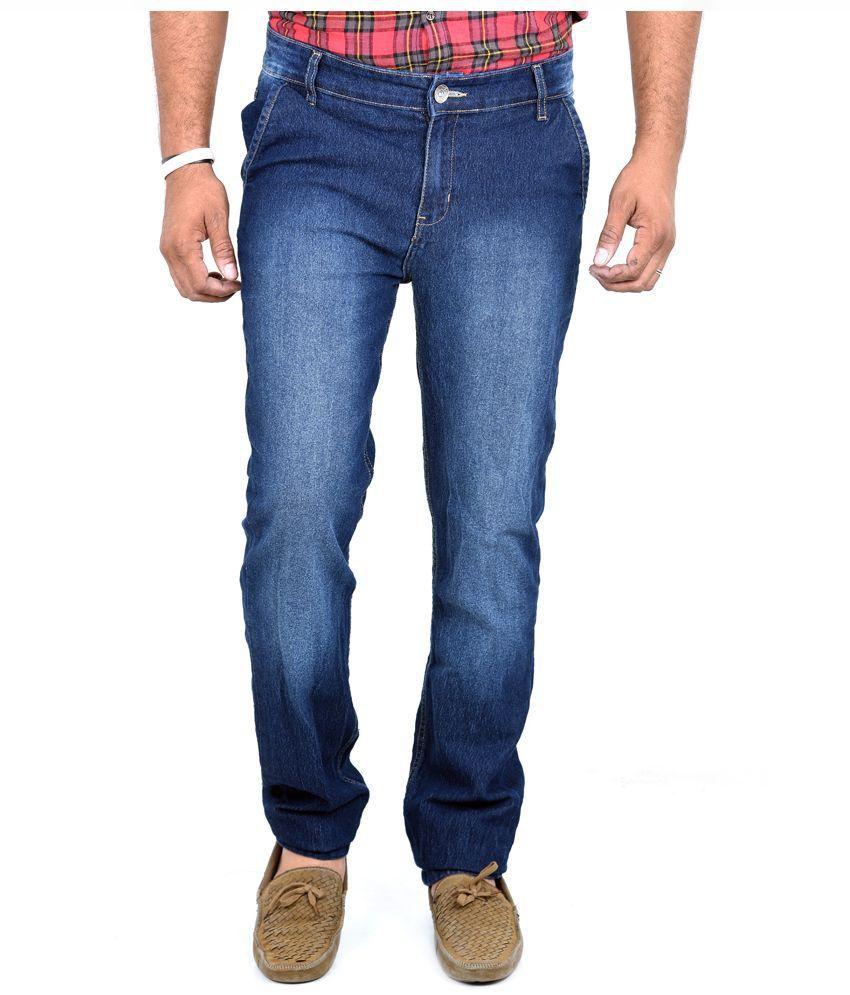 Indigen Blue Skinny Fit Jeans