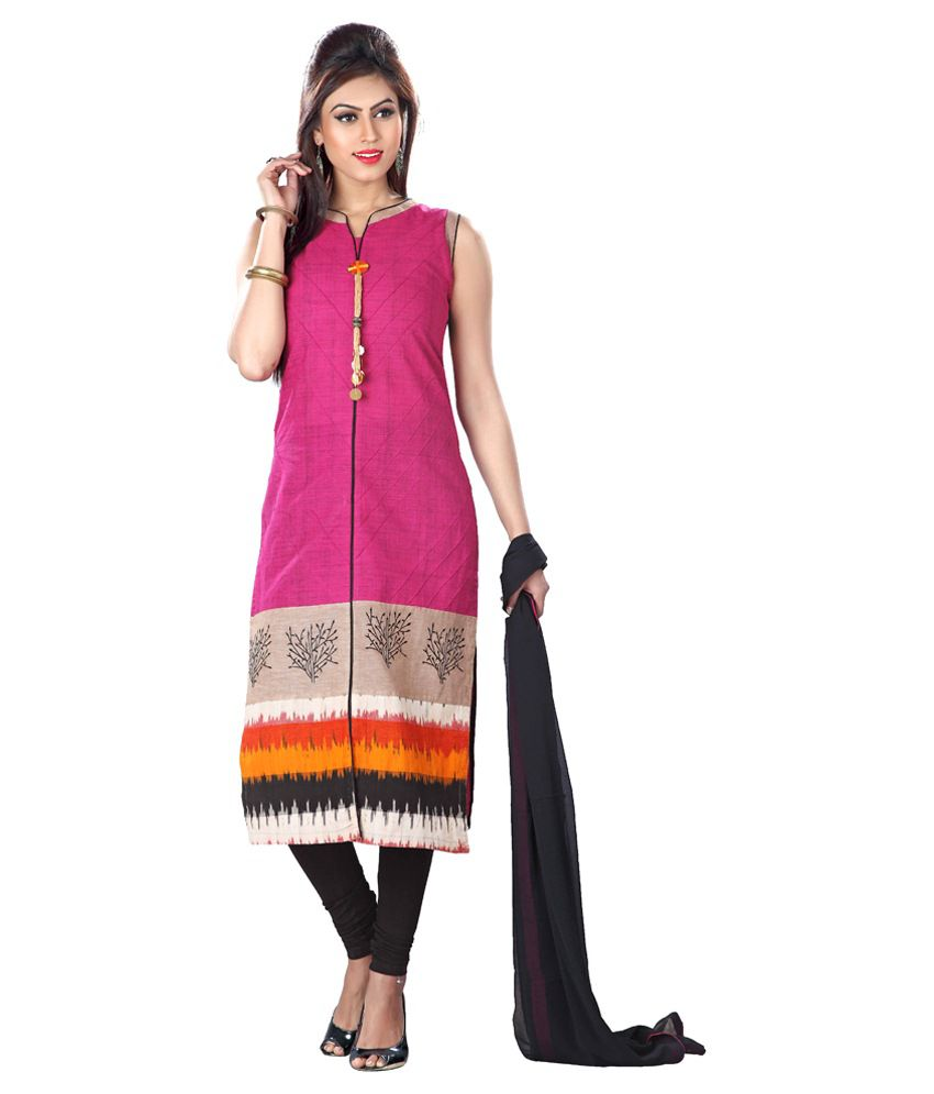 Payal Multi Color Cotton Stitched Suit