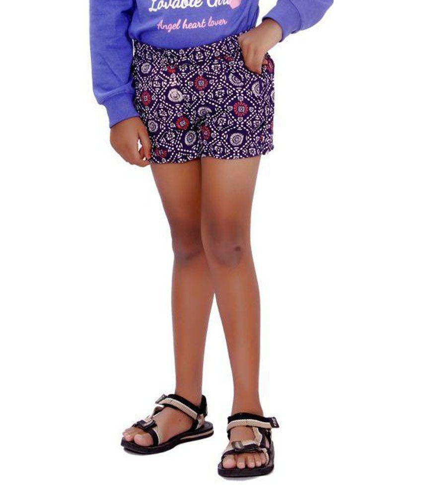 SML Originals Multicolor Printed Rayon Shorts
