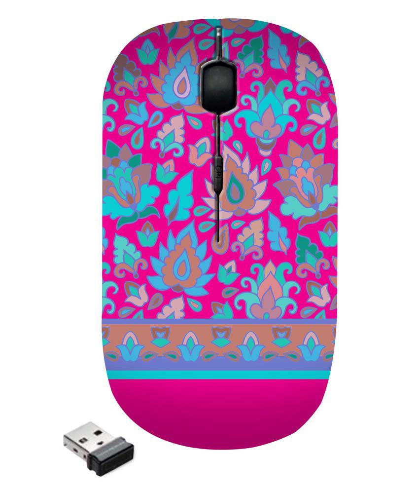 Zapcase Wireless Mouse Multicolor