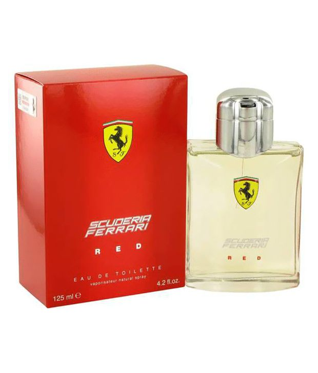 Ferrari Scuderia Red Men Edt 125Ml