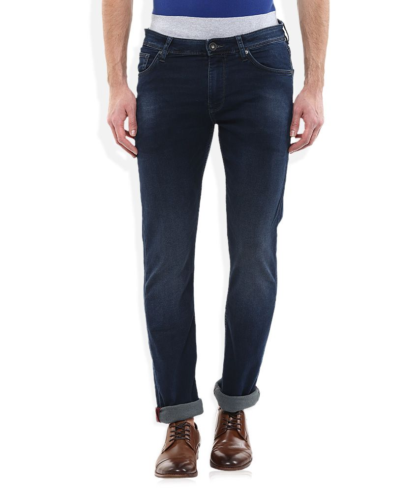 Celio Blue Regular Fit Jeans