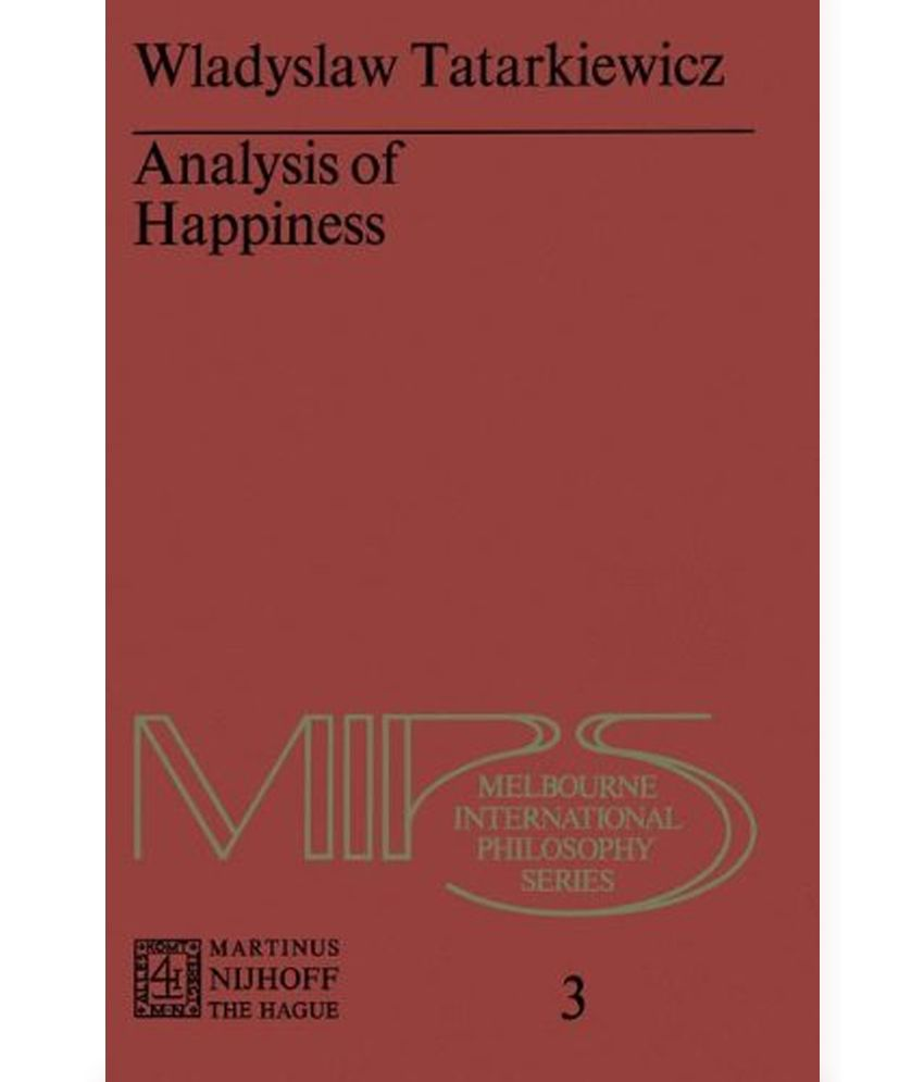 an analysis of happiness Happiness definition, the quality or state of being happy see more.