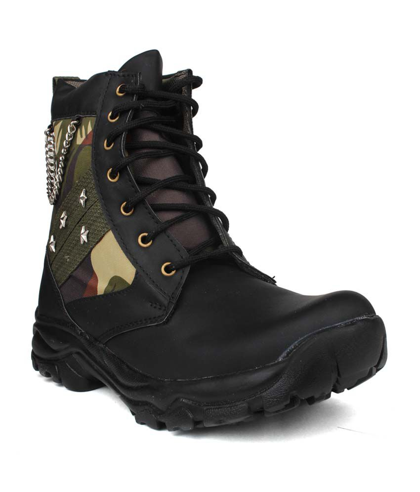 Columbus Black Boots