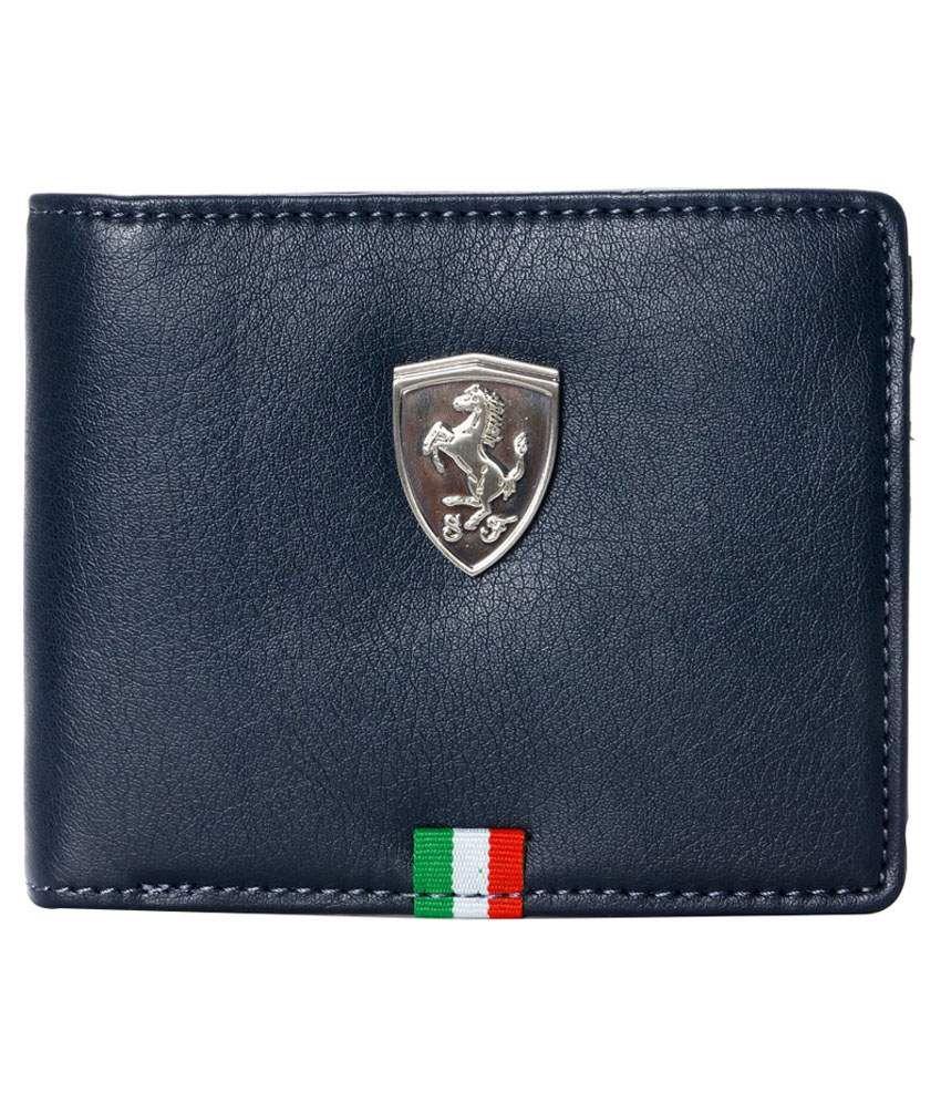 Puma Blue Formal Wallet For Men Buy Online At Low Price