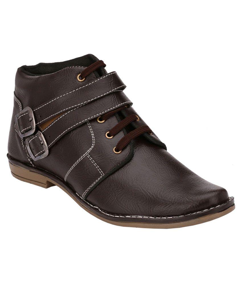 Black Field Brown Smart Boot