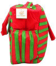 Ole Baby Big Multi-utility Stripe Fabric Diaper Bag
