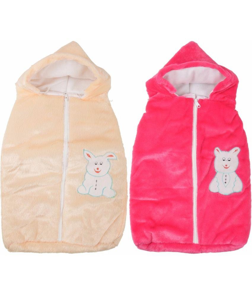 Royal Shri Om Baby Wrapper - Pack Of 2