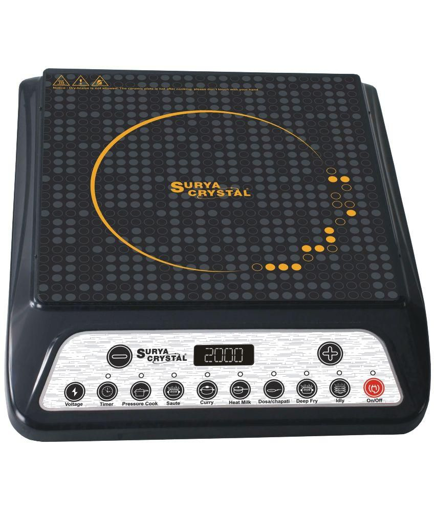 Surya Crystal IC-0123 Induction Cooktop