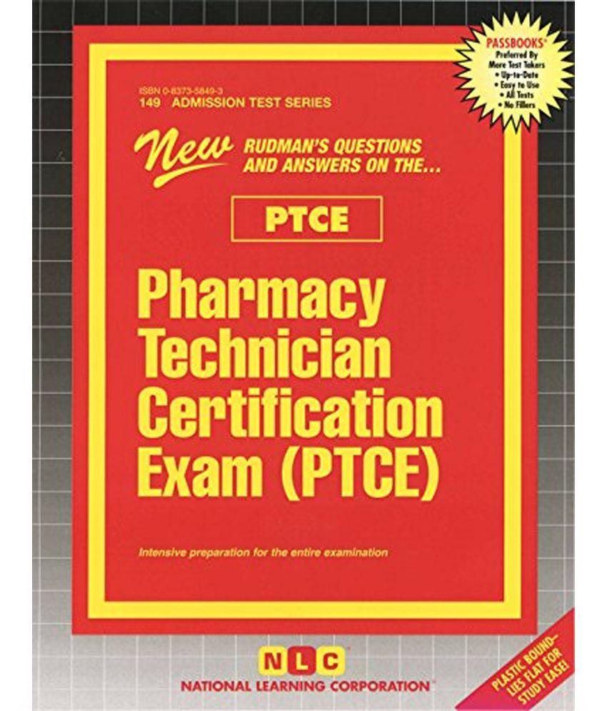 Pharmacy Technician Certification Exam Ptce Buy Pharmacy
