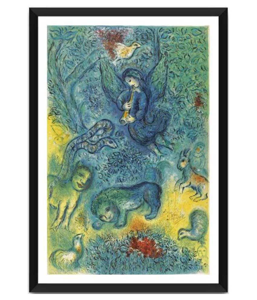 Tallenge The Magic Flute By Marc Chagall Framed Art Print