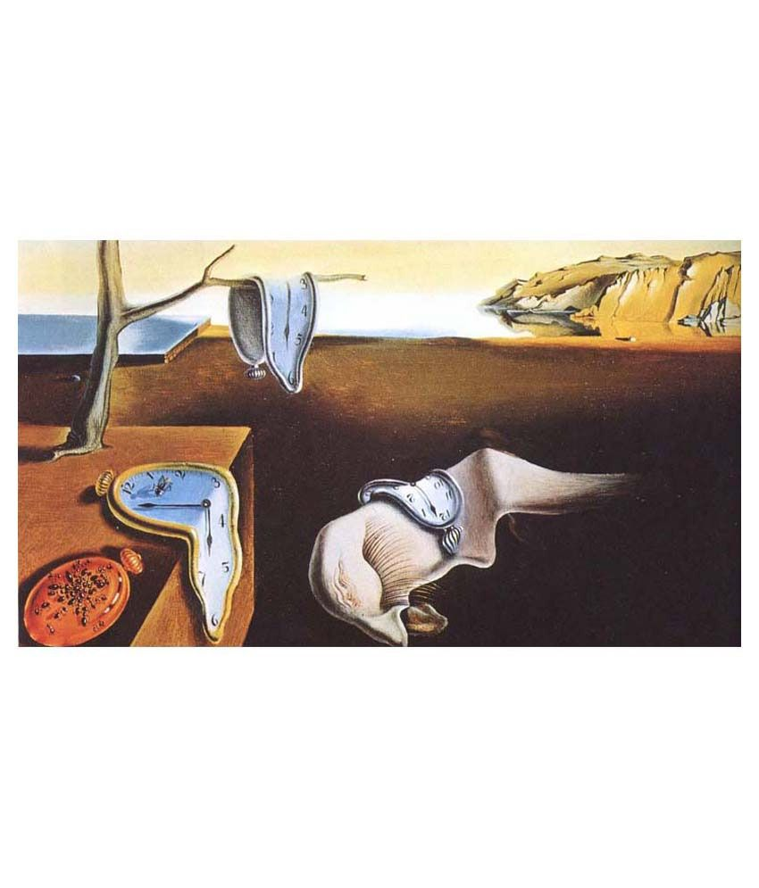 Tallenge The Persistence Of Memory By Salvador Dali Gallery Wrap Canvas Art Print