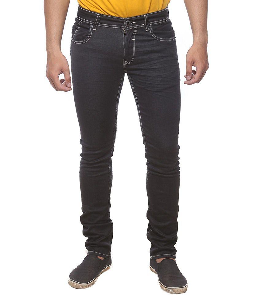 Spykar Brown Slim Fit Jeans