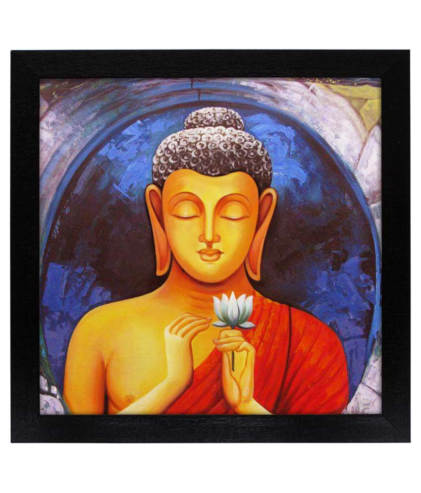 Delight Peace Mind Buddha Painting