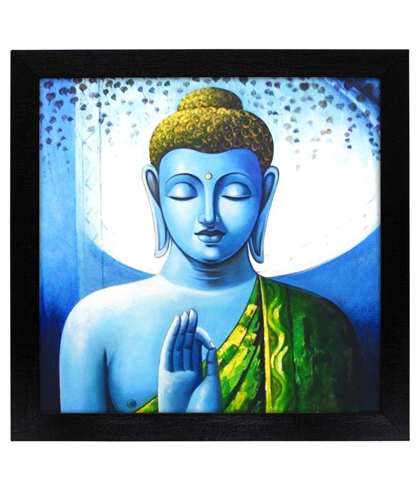 Delight Blue Buddha Paitning