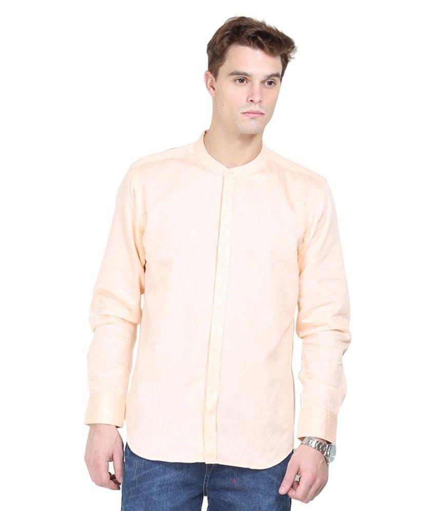 Orange Valley Orange Casuals Slim Fit Shirts No