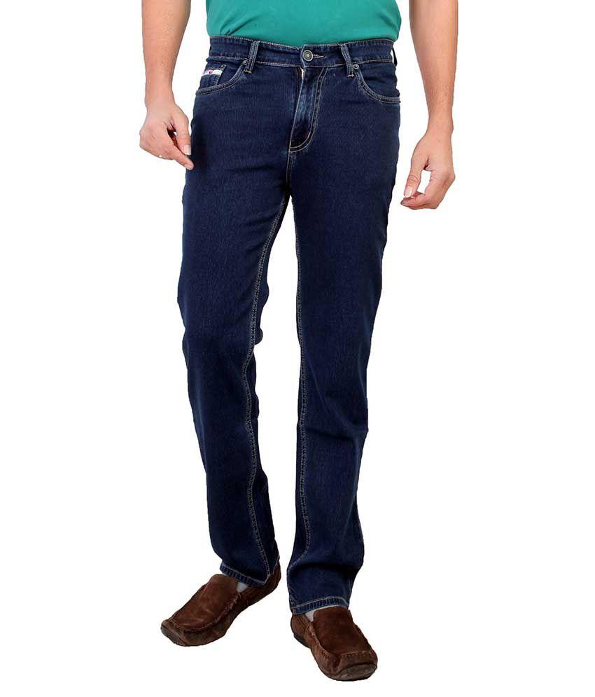 Hoodie Blue Slim Fit Jeans