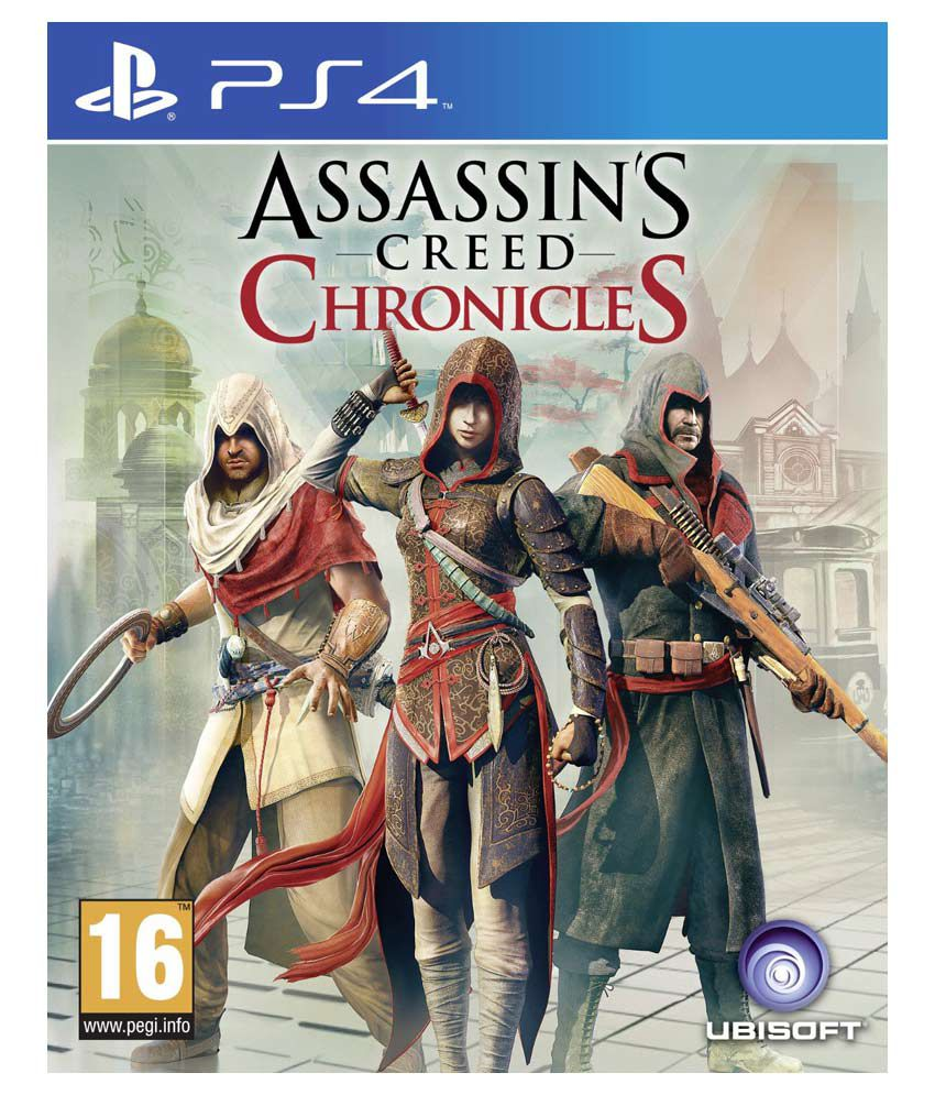 Buy Assassin S Creed Chronicles Ps4 Online At Best Price In India