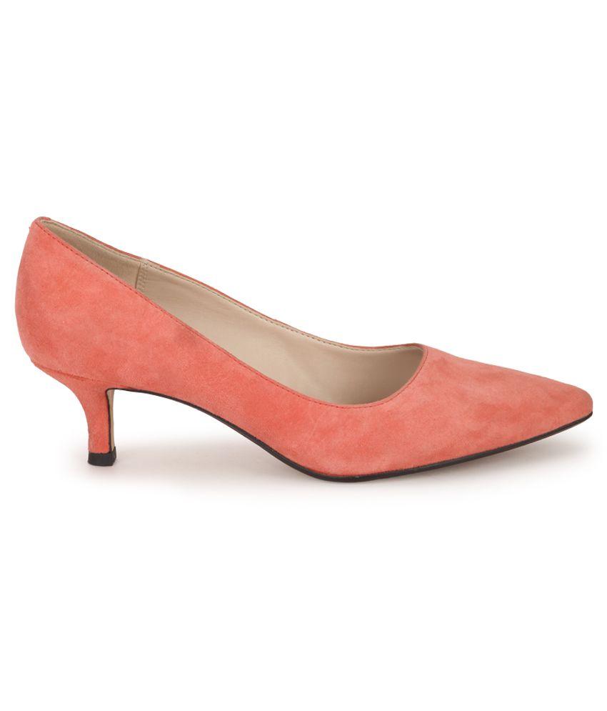978cb26373b Clarks Red Kitten Heels Price in India- Buy Clarks Red Kitten Heels ...