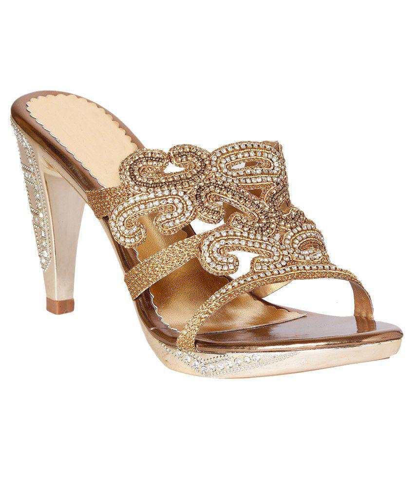 Pantof Golden Slip Ons