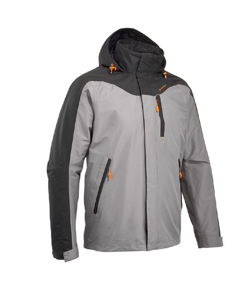 Quechua Forclaz 100 Men Hiking Rain Jacket