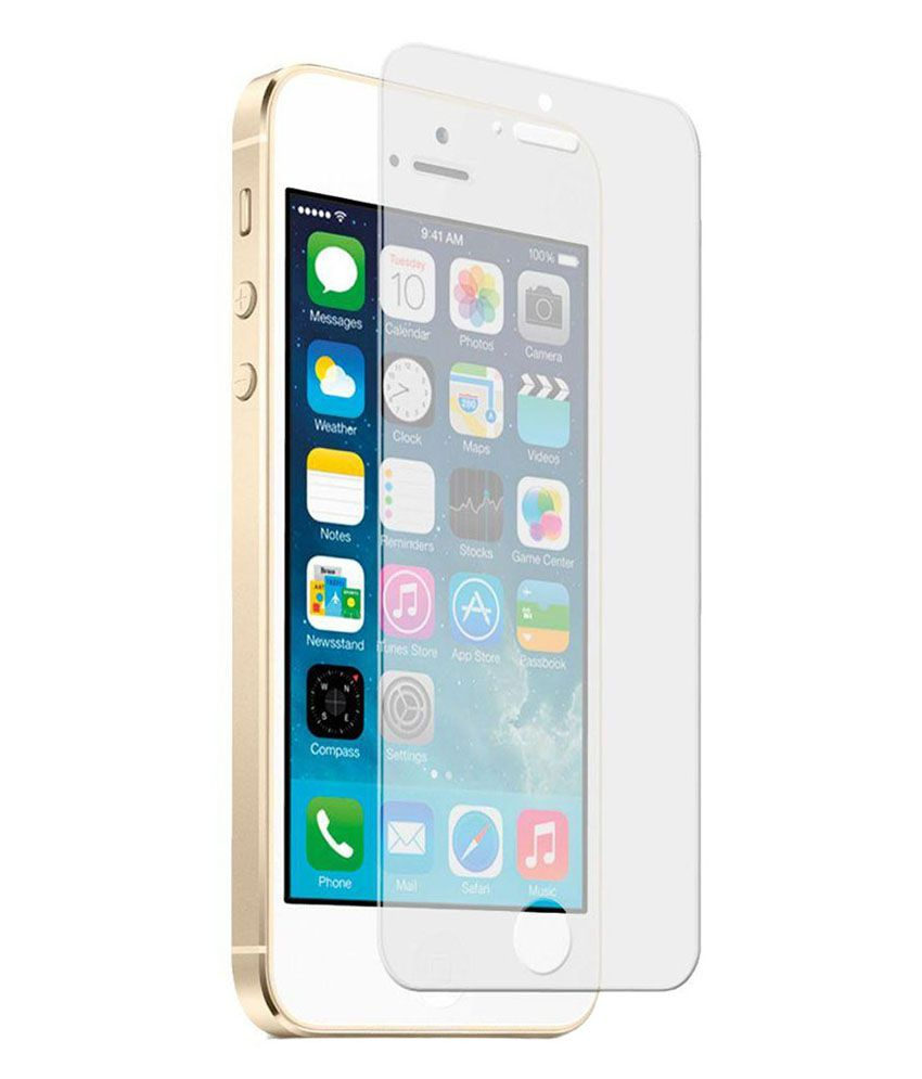 Apple iPhone 5C Tempered Glass Screen Guard by TEE CEE