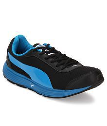 Puma Reef Fashion Black Sports Shoes