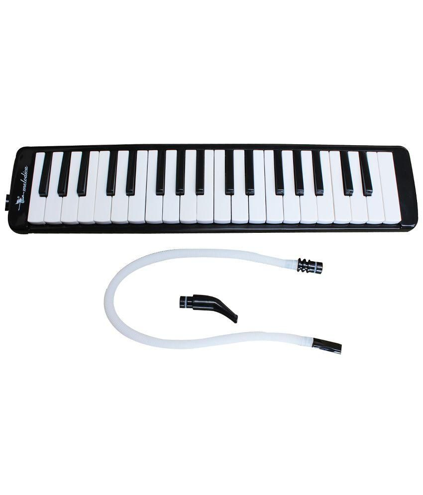Swan SW37J-1 Melodica Piano - Black and White
