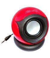 Galaxy Plus GPHS656 1.0 mini Speaker - Red/Black